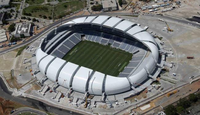 Estádio terá primeira partida neste domingo: o América-RN encara o Confiança pela Copa do Nordeste - Foto: Sergio Moraes | Ag. Reuters