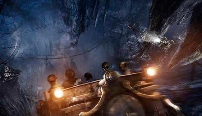 Harry Potter e a Fuga de Gringotts é uma das novas atrações, além de novas lojas - Foto: Divulgação