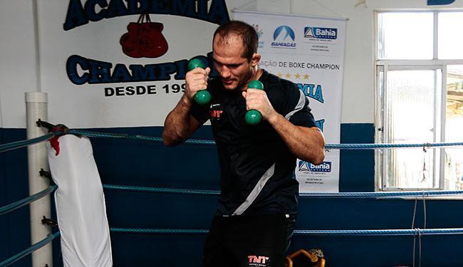 Lutador vai para o Rio, mas segue como atleta da academia Champions - Foto: Mila Cordeiro   Ag. A TARDE