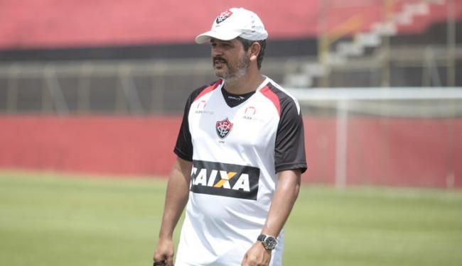 Para o treinador do Vitória, time ainda está se ajustando aos poucos na competição - Foto: Edilson Lima / Ag. A TARDE