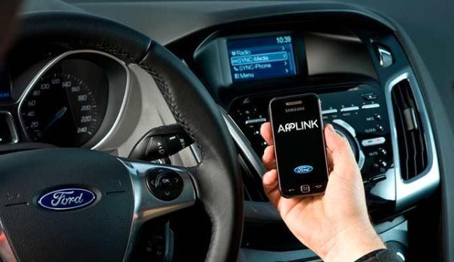 Sync AppLink já é usado nos Estados Unidos desde 2007 e chegará aos veículos brasileiros - Foto: Divulgação