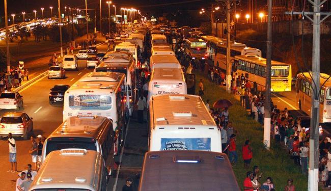 Linhas especiais vão operar durante a festa no Parque de Exposições - Foto: Claudionor Júnior   Arquivo   Ag. A TARDE