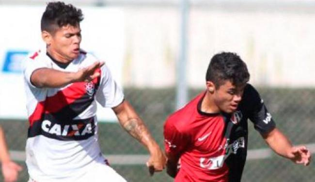 Promessas do Leão perderam primeira e caíram para terceiro no Grupo A - Foto: Esporte Clube Vitória   Divulgação