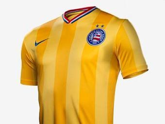 Camisa do Bahia amarela que faz homenagem à Seleção Brasileira - Foto: Reprodução l Nike