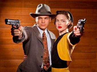 Bonnie e Clyde é o casal de bandidos mais famoso da época da Depressão americana - Foto: Divulgação