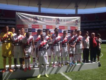 Vitória ficou com o vice-campeonato no torneio mexicano - Foto: Site do E.C. Vitória   Divulgação