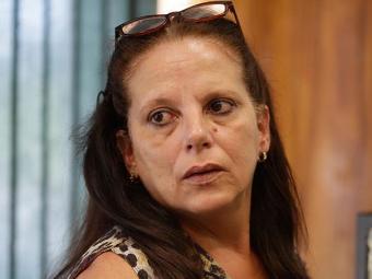Ramona Rodríguez também tentou obter visto dos EUA - Foto: Eraldo Peres l AP Photo