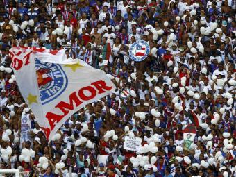 Torcida tricolor pode acompanhar a estreia do Bahia no Baianão - Foto: Eduardo Martins   Ag. A TARDE