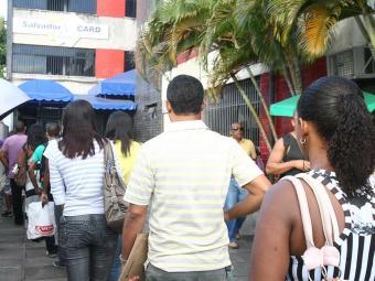 O objetivo é reduzir as filas nos postos do Salvador Card - Foto: Arestides Baptista   Ag. A TARDE