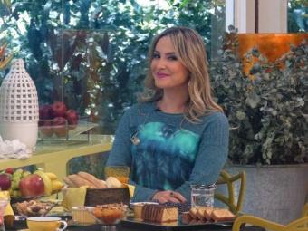 Claudia Leitte tomou café com Ana Maria Braga e se declarou para o marido - Foto: Mais Você   TV Globo