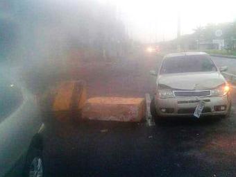 Uma mulher ficou ferida no acidente - Foto: Itamar Bispo | Cidadão Repórter