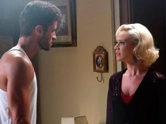 Davi e Aurora brigam e ele chama ela de egoísta - Foto: TV Globo | Divulgação