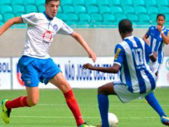Garotos do Bahia jogaram fácil e saíram da Fonte Nova com três pontos na estreia - Foto: Esporte Clube Bahia | Divlugação