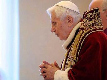 Pontificado durou quase oito anos - Foto: Agência EFE