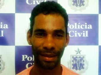 Beto foi capturado em uma casa, menos de 24 horas depois da tentativa de homicídio - Foto: Divulgação | Polícia Civil