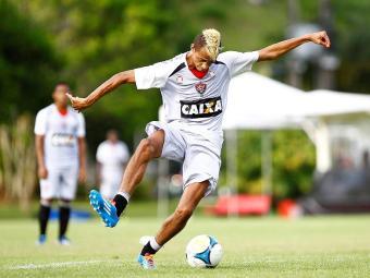 Dúvida após última partida, William Henrique vai para o jogo e é esperança de gols do Leão - Foto: Eduardo Martins   Ag. A TARDE