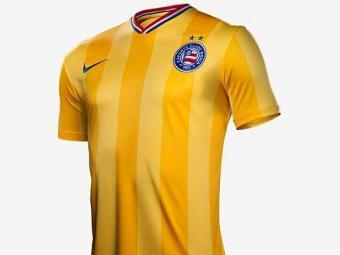 Insatisfeito com a Nike, Bahia ainda não usou terceiro uniforme - Foto: Reprodução l Nike