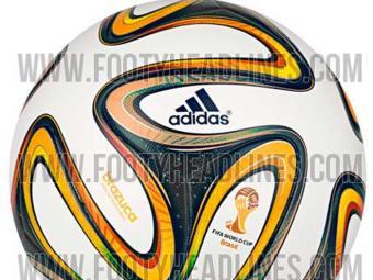 Bola tem detalhes dourados ao invés da colorida Brazuca - Foto: Reprodução | Footy Headlines