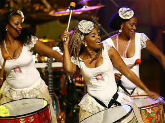 A banda afro Didá é uma das atrações do ensaio - Foto: Divulgação