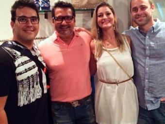 André Marques fez a mesma cirurgia de redução do apresentador Faustão - Foto: Reprodução   Instagram