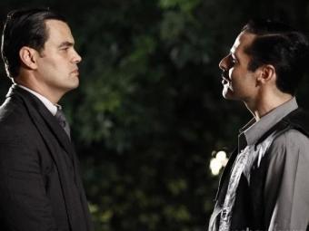 Manfred vem recebendo ameaças de Benito - Foto: Joia Rara | TV Globo