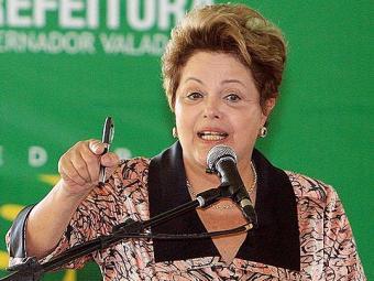 Dilma Rousseeff, sobre manifestações: 'Pessoas que escondem o rosto não são democratas' - Foto: Leonardo Morais l Estadão Conteúdo
