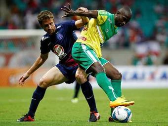 Jogo foi disputado e o empate foi ruim para o Bahia - Foto: Eduardo Martins | Ag. A TARDE