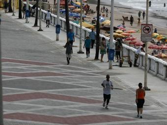 Obras para conclusão da segunda etapa de requalificação devem ser retomadas após o carnaval - Foto: Raul Spinassé | Ag. A TARDE