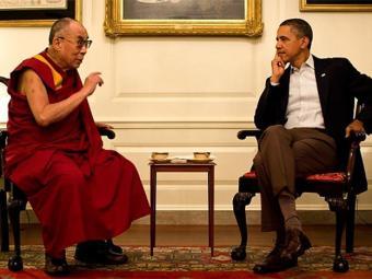 Obama recebeu Dalai Lama na Casa Branca apesar das críticas da China - Foto: Reprodução l Casa Branca