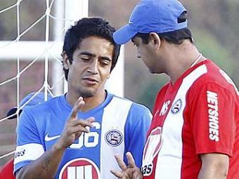 Com dores, Pittoni não treinou na sexta, no Fazendão - Foto: Eduardo Martins | Ag. A TARDE
