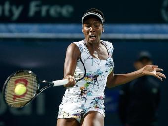 Venus venceu facilmente a francesa Cornet na decisão em Dubai - Foto: Ahmed Jadallah | REUTERS