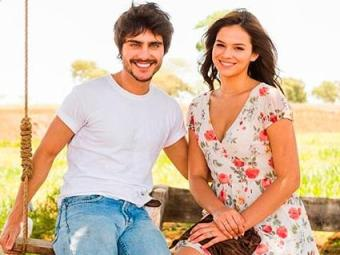 Bruna e Guilherme contracenaram na segunda fase da novela Em Família - Foto: TV Globo | Divulgação