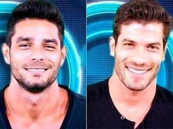 Diego e Roni disputam a permanência na casa no décimo paredão do reality - Foto: TV Globo | Divulgação