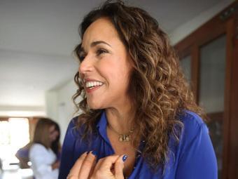 Daniela estará ao lado de Malu e as filhas na quinta - Foto: Edilson Lima | Ag. A TARDE