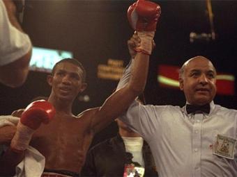 Cermeño foi campeão mundial em duas categorias de peso distintas - Foto: Getty Images