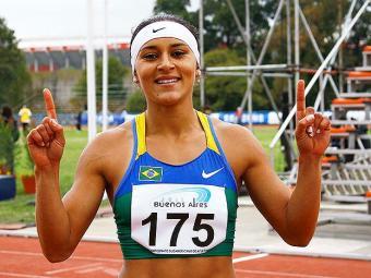 Musa do atletismo brasileiro, Ana Cláudia pediu dispensa da convocação - Foto: Inovafoto