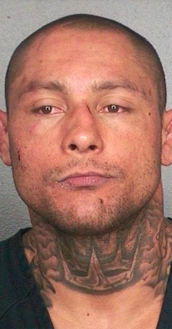 Thiago Silva foi preso pela SWAT nos EUA - Foto: Broward County Sheriff's Office l Handout l Reuters
