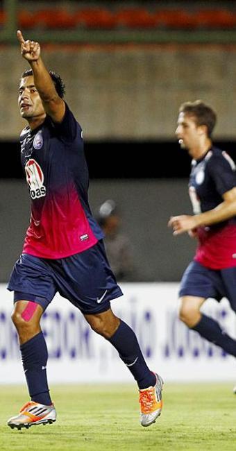 Pittoni comemora gol que deu vitória ao Bahia - Foto: Eduardo Martins   Ag. A TARDE