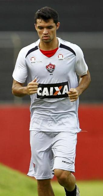 Rômulo foi artilheiro do último Baianão com 13 gols, mas praticamente não atuou no segundo semestre - Foto: Eudardo Martins   Ag. A TARDE