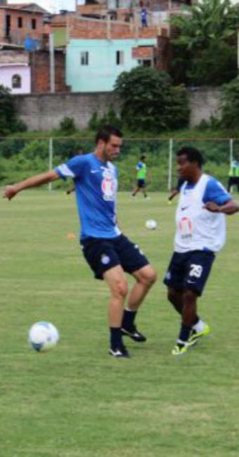 Clássico de domingo pode valer o cargo do técnico Marquinhos Gomes - Foto: Esporte Clube Bahia | Divulgação