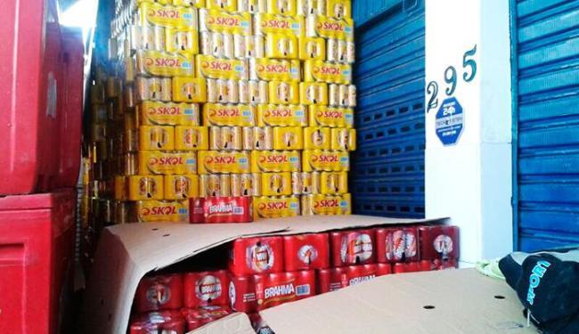 Produtos seriam comercializados durante a Festa de Iemanjá - Foto: Divulgação