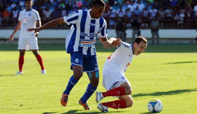 Bahia estreou contra o CSA e acabou goleado por 4 a 1 em Maceió - Foto: Itawi Albuquerque | Futura Press | Estadão Conteúdo