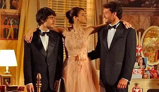 Triângulo amoroso entre Laerte, Helena e Virgílio permeará na trama - Foto: TV Globo | Divulgação