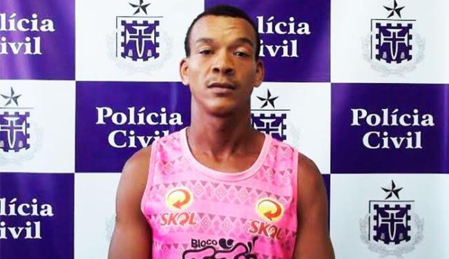 Jessiel foi capturado quando participava de um churrasco - Foto: Divulgação | Polícia Civil