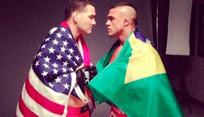 Belfort vai enfrentar Weidman no dia 24 de maio - Foto: Reprodução | Instagram