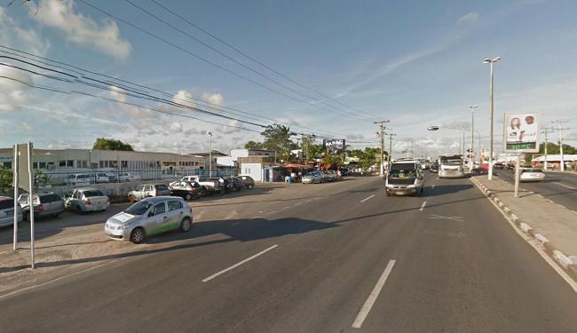 Trecho em frente ao Hospital é bastante movimentado - Foto: Reprodução | Google Street View
