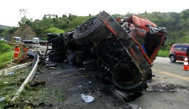 Acidente aconteceu no km 643 da BR-116 Sul - Foto: Reprodução | Blog Marcos Frahm