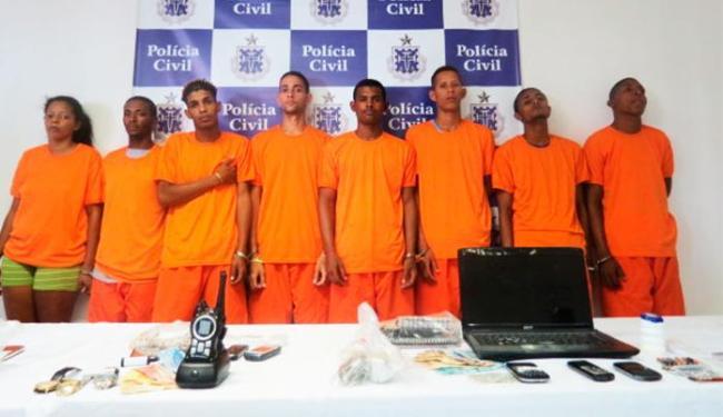Grupo foi apresentado no auditório do DHPP, na Pituba - Foto: Divulgação | Polícia Civil
