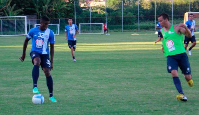 Reservas do Bahia disputam coletivo contra jogadores do Sub-20 e Sub-18 - Foto: Esporte Clube Bahia | Divulgação