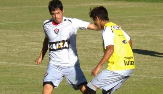 Titulares descansaram contra a Catuense e foram a campo em coletivo nesta sexta - Foto: Esporte Clube Vitória | Divulgação